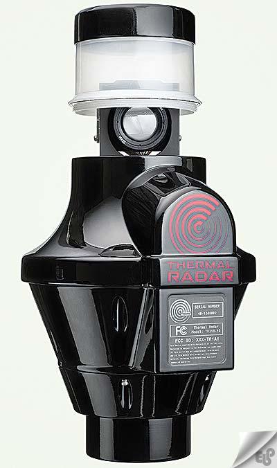 رادار حرارتی در مقابل دوربین های مداربسته