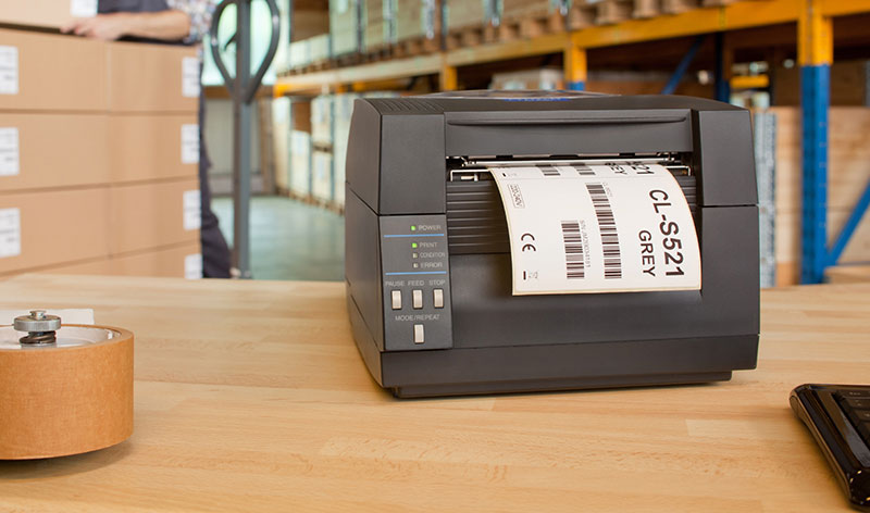 چاپ انواع مختلف برچسب ها