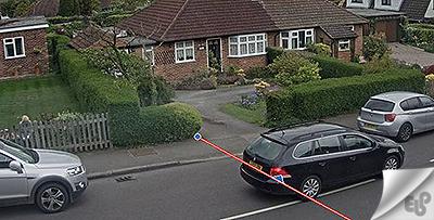 عبور از خط line crossing در دوربین مداربسته چیست؟