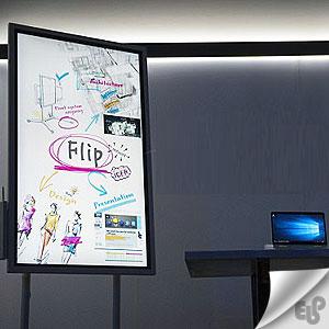 شیوه نوین برگزاری جلسات حرفه ای با نمایشگر دیجیتال Flip
