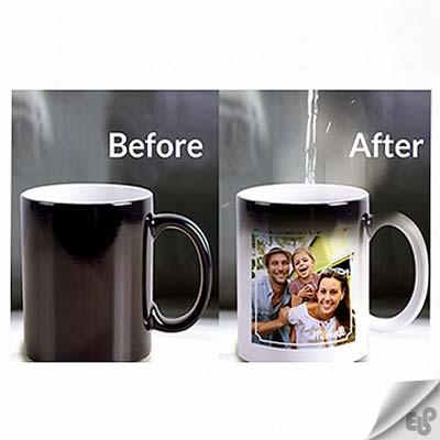 چاپ عکس روی لیوان با دستگاه پرس حرارتی
