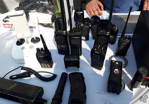 انواع فرکانس بیسیم نیروی انتظامی