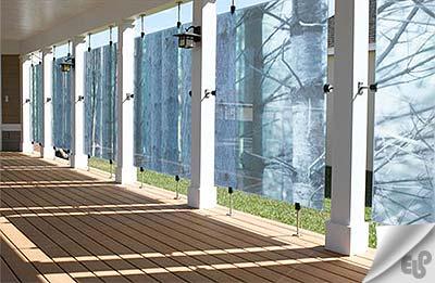 امکان چاپ طرح های مختلف روی شیشه با دستگاه فلت بد Flatbed