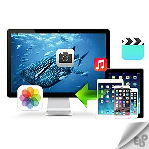 آموزش انتقال عکس و فیلم از گوشی آیفون به کامپیوتر