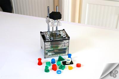 طراحی کوچکترین و ارزانترین پرینتر سه بعدی جهان