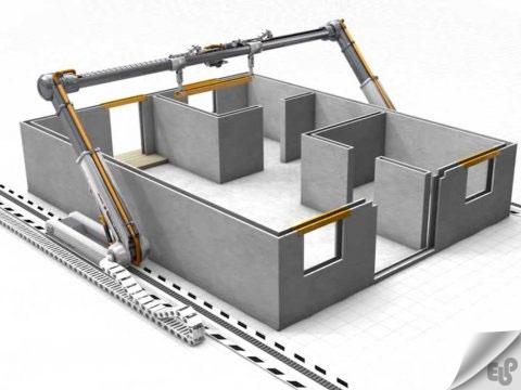 ساخت 10 خانه در عرض 24 ساعت با پرینتر های 3 بعدی