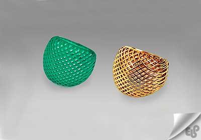 استفاده از پرینتر سه بعدی در صنعت طلا و جواهر