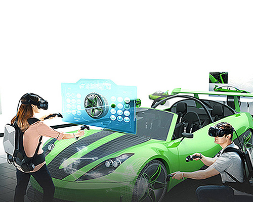 استفاده از تکنولوژی واقعیت مجازی و تبدیل مجازی به فیزیکی