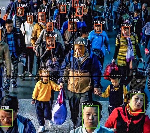 سیستم تشخیص چهره برای شناسایی افراد در پیاده روها به کار گرفته شد!